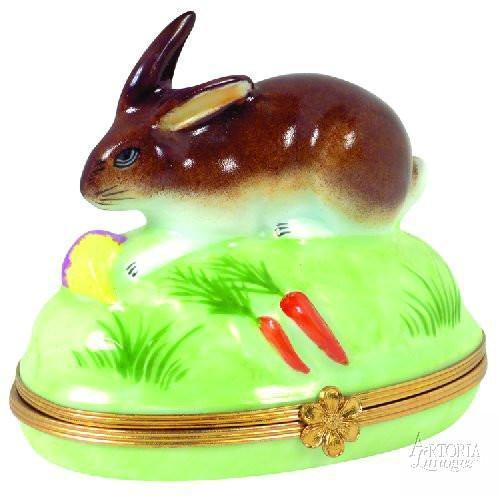 Rabbit Limoges Boxes - Limoges Boxes Porcelain Figurines