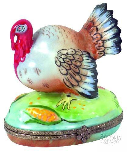 Turkey Limoges Boxes - Limoges Boxes Porcelain Figurines