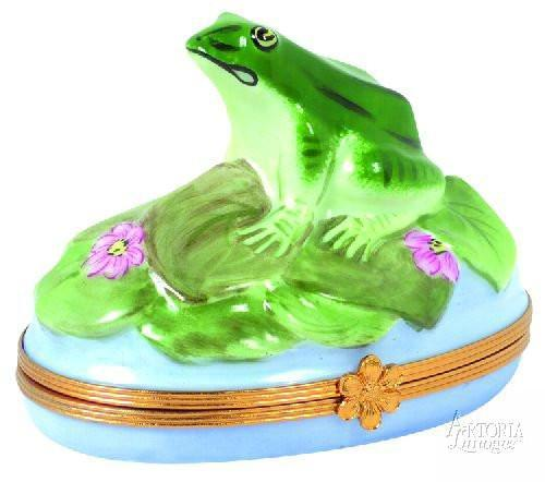 Frog Limoges Boxes - Limoges Boxes Porcelain Figurines