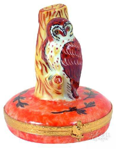 Barn Owl Limoges Boxes Limoges Boxes Porcelain Figurines Collectibles French Gifts