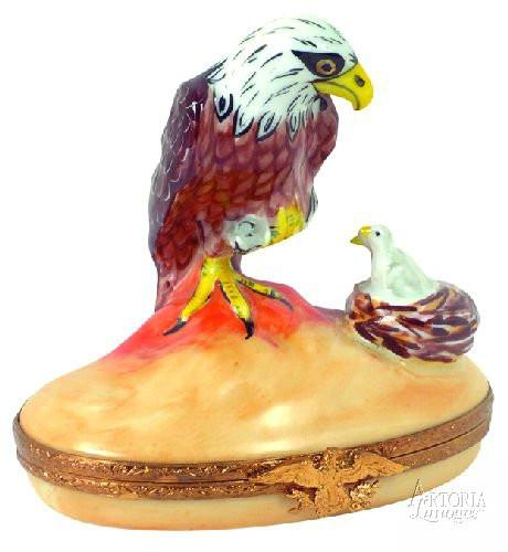 Eagle Limoges Boxes - Limoges Boxes Porcelain Figurines