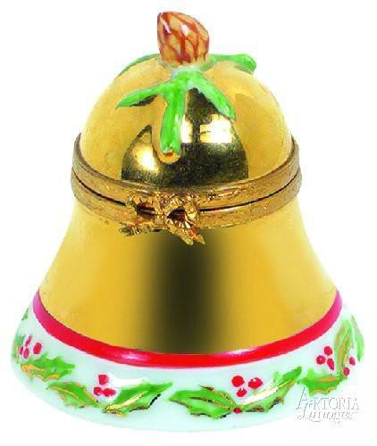 Christmas Bell-christmas christmas bell music-Artoria-Limoges Box Boutique