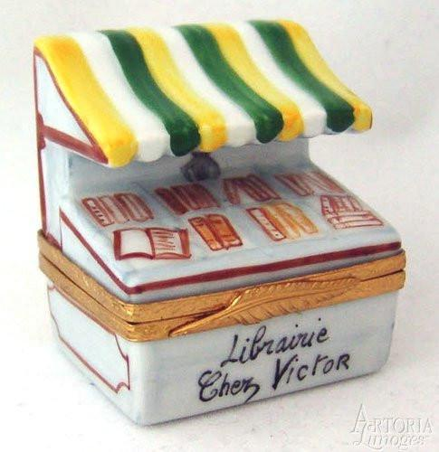 Victor's Book Store Limoges Boxes - Limoges Boxes Porcelain Figurines