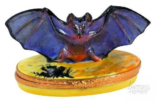 Bat Limoges Boxes Limoges Boxes Porcelain Figurines Collectibles French Gifts