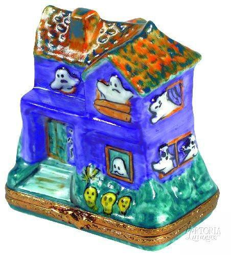 Haunted House Limoges Boxes Limoges Boxes Porcelain Figurines Collectibles Gifts