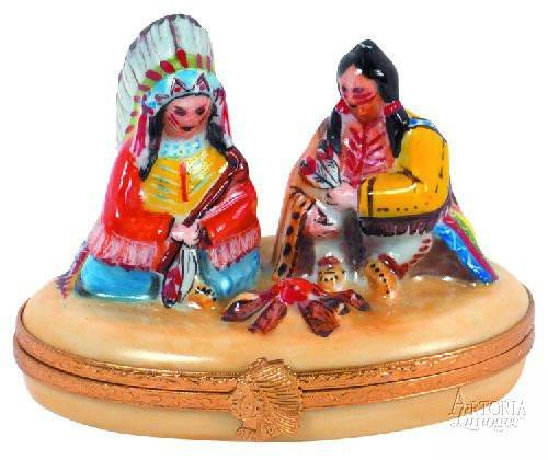 Sitting Chief-indian thanksgiving united states sitting chief-Artoria-Limoges Box Boutique