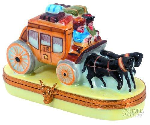 Stage Coach-stage coach vehicles united states travel-Artoria-Limoges Box Boutique