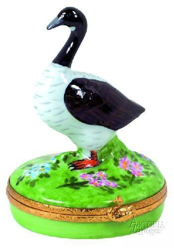 Canadian Goose Limoges Boxes - Limoges Boxes Porcelain Figurines