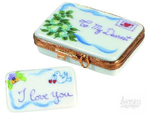 Love Letter: Dearest-love wedding heart-Artoria-Limoges Box Boutique