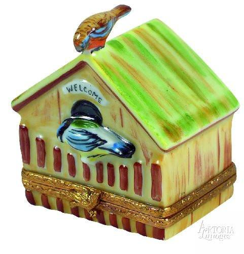 Birdhouse Limoges Boxes Limoges Boxes Porcelain Figurines Collectibles French Gifts