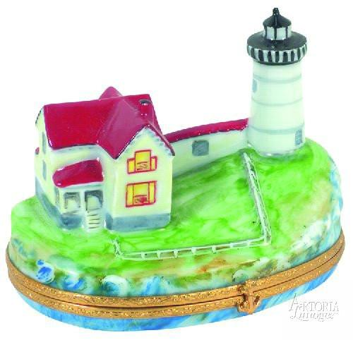 Nubble Lighthouse Limoges Boxes - Limoges Boxes Porcelain Figurines