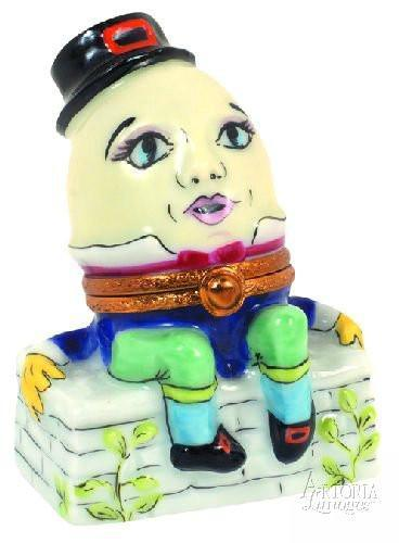 Humpty Dumpty Limoges Boxes Limoges Boxes Porcelain Figurines Collectibles Gifts
