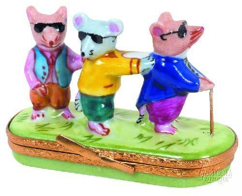 Three Blind Mice-baby book music three blind mice-Artoria-Limoges Box Boutique