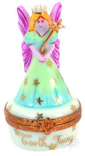 Tooth Fairy Mystical Porcelain Limoges Boxes Limoges-Porcelain-Box
