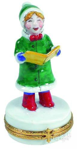 Christmas Caroler-christmas caroler music-Artoria-Limoges Box Boutique