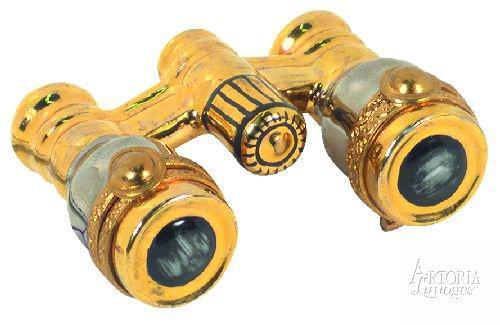 Opera Glasses Limoges Boxes - Limoges Boxes Porcelain Figurines