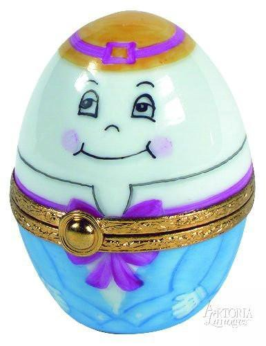 Humpty Dumpty Egg Limoges Boxes Limoges Boxes Porcelain Figurines Collectibles Gifts