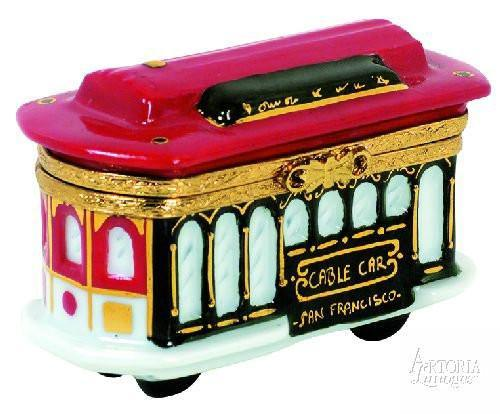 Tram-tram vehicles-Artoria-Limoges Box Boutique
