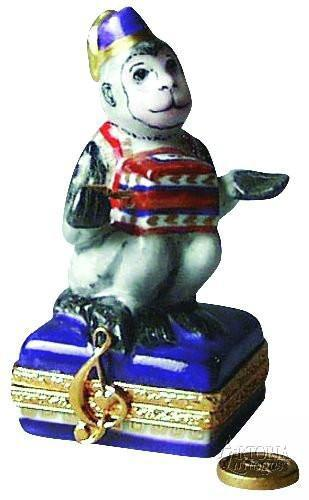 Hurdy-Gurdy Monkey Limoges Boxes Limoges Boxes Porcelain Figurines Collectibles Gifts