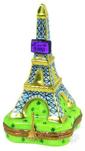 Eiffel Tower 2000 Limoges Boxes - Limoges Boxes Porcelain Figurines