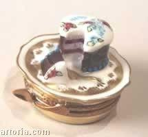 Happy Birthday Cake Limoges Boxes Limoges Boxes Porcelain Figurines Collectibles Gifts