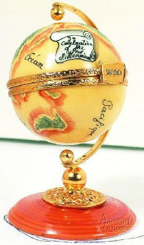 Globe Limoges Boxes Limoges Boxes Porcelain Figurines Collectibles Gifts