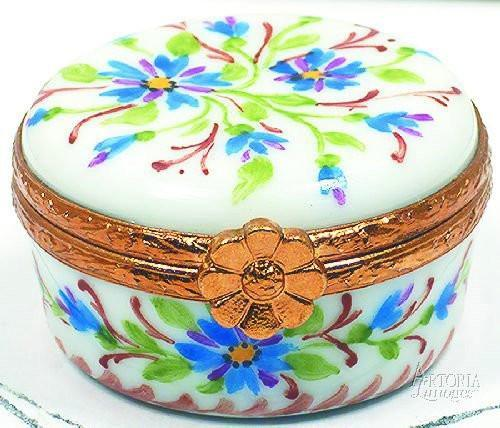 Small Round - B2 Limoges Boxes - Limoges Boxes Porcelain Figurines