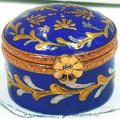 Mini Round-traditional-Artoria-Limoges Box Boutique