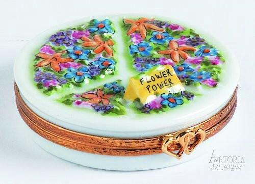 Peace Sign-peace travel special occasions-Artoria-Limoges Box Boutique