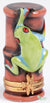 Red-Eyed Tree Frog Limoges Boxes - Limoges Boxes Porcelain Figurines