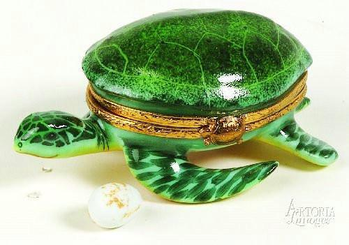 Sea Turtle-turtle-Artoria-Limoges Box Boutique