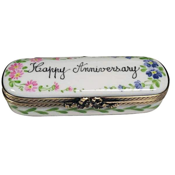 Happy Anniversary Limoges Porcelain Boxes Gifts Limoges Boxes Porcelain Figurines Collectibles Gifts