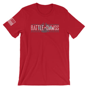Battle Dawgs Short Sleeve Tee - Classic - RED