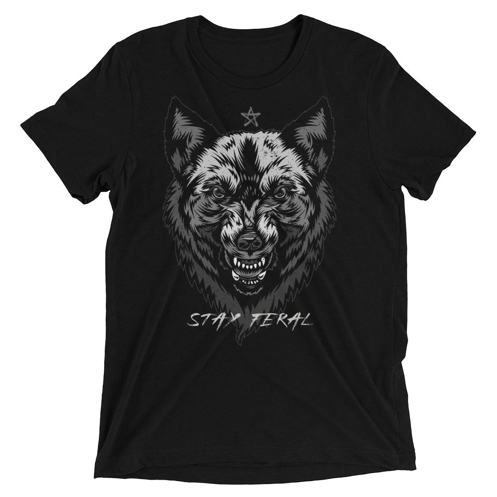 Stay Feral Short Sleeve Tee - Classic