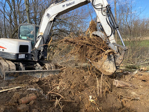 Bobcat E80 & E85 (pre-2019) Pin-on Hydraulic Excavator Thumb