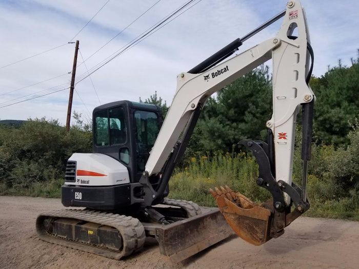 Bobcat E42-E45-E50-E55-E60 Pin-on Hydraulic Excavator thumb w/ Hoses