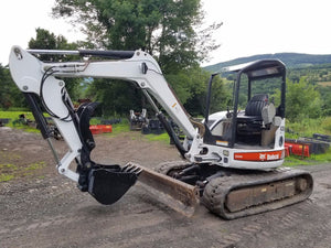 Bobcat 335 & 435 Pin-on Hydraulic Excavator thumb w/ Hoses