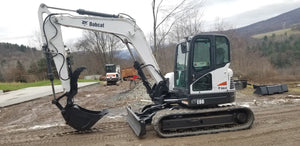 Bobcat E85 (2021 and newer) Pin-on Hydraulic Excavator Thumb