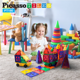 Picasso Tiles - Magnet Building Tiles 180 pieces