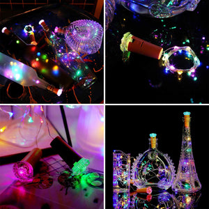 (Last day promotion. Only $3.99) ROMANTIC BOTTLE LIGHTS