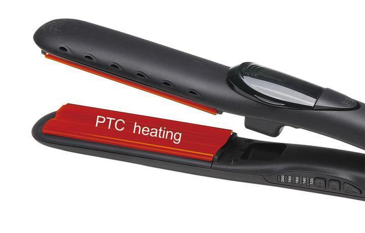60%OFF TODAY-Steam Hair Straightener Curler 2 in 1