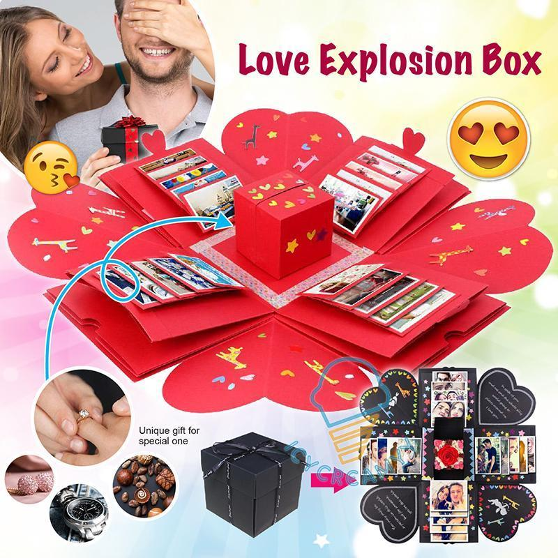 Love Explosion Box-Best Gift