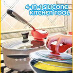 4-in-1 Silicone Kitchen Tool