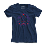 Kamla Geometry Women Tee - loomful