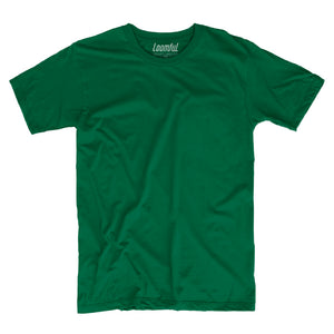 Forest Green Solid T-Shirt - loomful