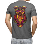 Zen Owl Backprinted - loomful