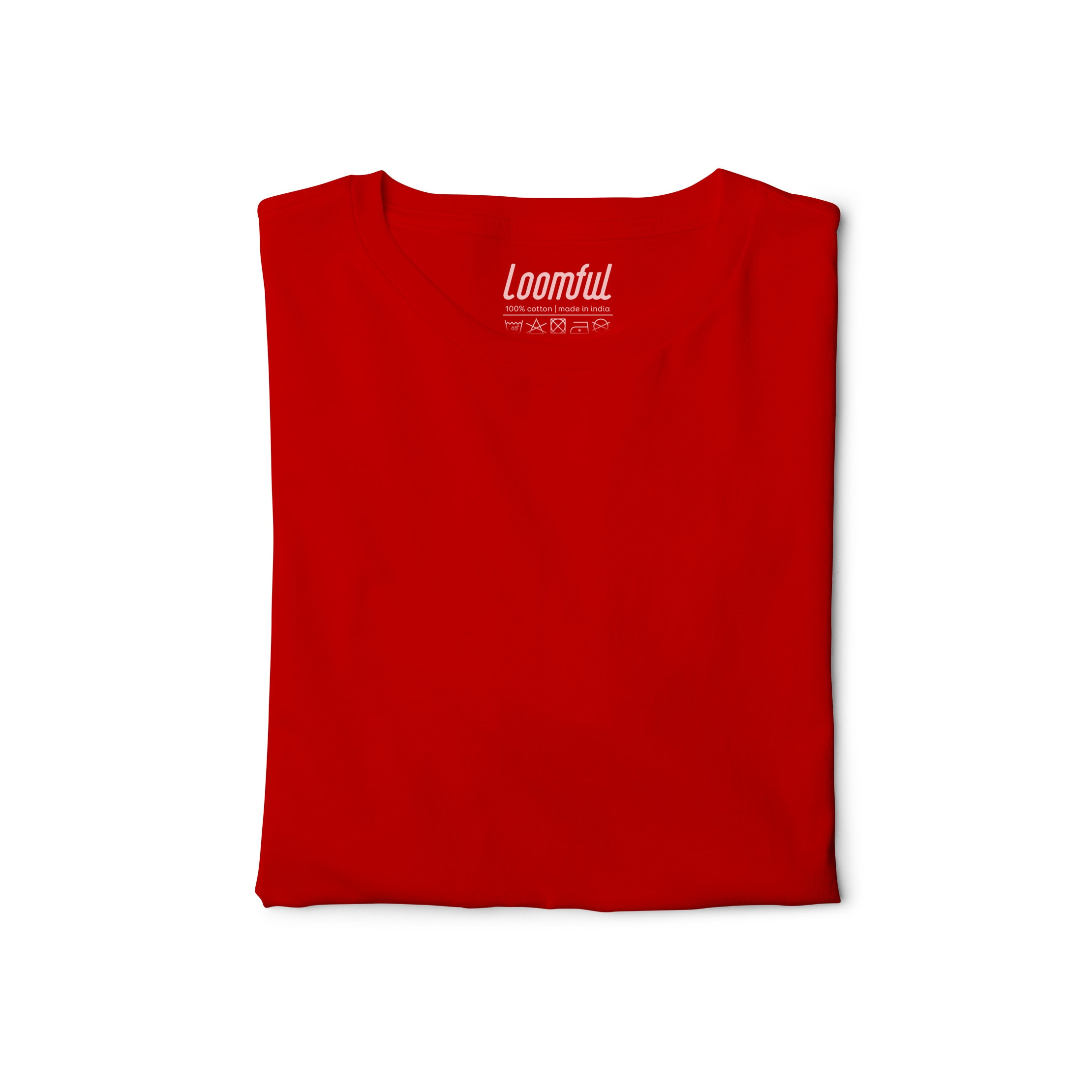 Red Solid T-Shirt - loomful