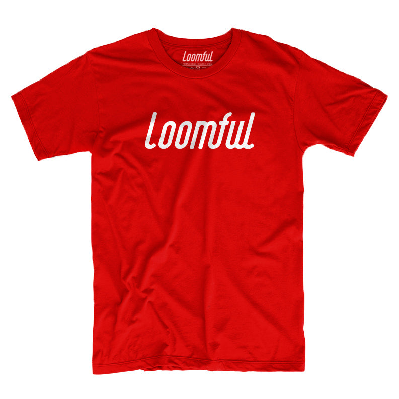 Loomful Red T-Shirt - loomful