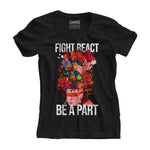 Fight React Be A Part | Women Tee - loomful