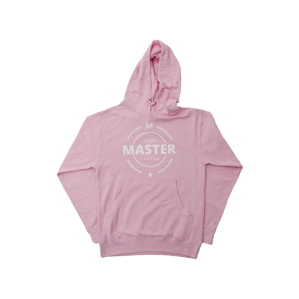 Light Pink Laurel Hoodie